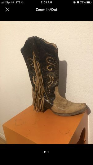 Corral fringe boot SIZE 9 for Sale in Georgetown, TX