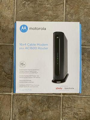 Motorola xfinity modem & router for Sale in MONTE VISTA, CA