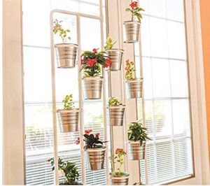 Vertical metal plant stand with 13 tears. for Sale in West New York, NJ