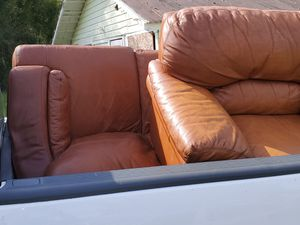 SOFA PLUS CHAIR FOR FREE! for Sale in Eustis, FL