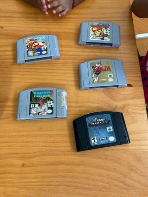 N64 Mario party no mercy Mario golf for Sale in Brea, CA