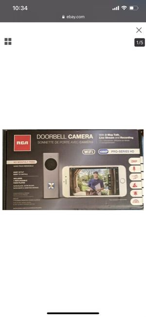 RCA doorbell camera for Sale in Chicago, IL