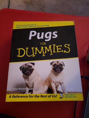 Pugs For Dummies - Like New for Sale in Rockville, MD