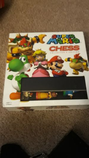 Super Mario chess set for Sale in Ellicott City, MD