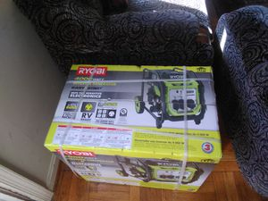 4000-Watt Recoil Start Gasoline Powered Digital Inverter Generator for Sale in Hyattsville, MD