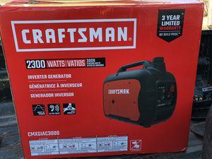 craftsman 2300 watt inverter generator for Sale in Dearborn, MI