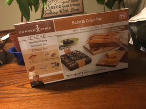 Copper Bake & Crisp Pan for Sale in St. Louis, MO