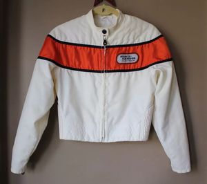 Harley Davidson Cafe Racer Women's Small Racing Motorcycle Biker Jacket for Sale in Hodgkins, IL