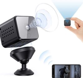 Spy Camera WiFi Mini Hidden Camera Night Vision Motion Detection Smallest Security Surveillance Cameras for Indoor/Warehouse/Home/Apartment/Office for Sale in Santa Ana,  CA