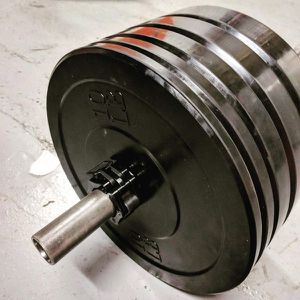 "Bumper Plates 160LB Set (bigger sets in Description) Olympic Weights 2"" Rubber for Sale in Bellmawr, NJ"