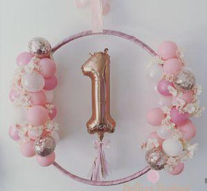 Birthday Balloon arch arrangement for Sale in Miami, FL
