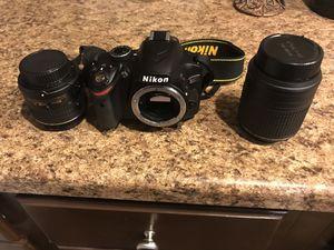 Nikon D3200 w 2 lenses for Sale in Carnegie, PA