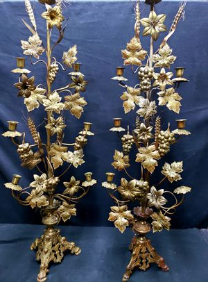 Authentic Antiques Italian Neo Classical Candelabras 7 Light Torcheres for Sale in Cincinnati, OH