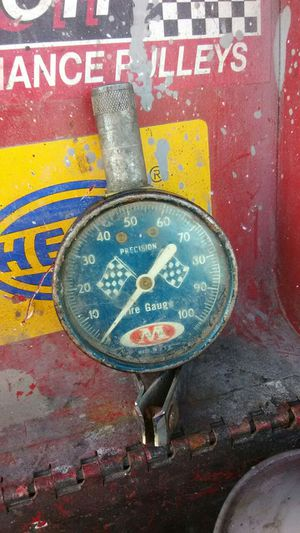 Old school racing tire gauge for Sale in WA, US