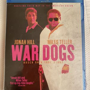 New War dogs bluray dvd for Sale in Tacoma, WA
