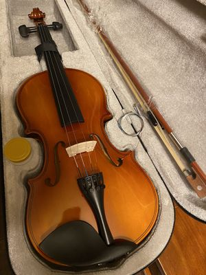 4/4 Violin with New Bow, Extra Strings, Rosin $80 Firm for Sale in Arlington, TX