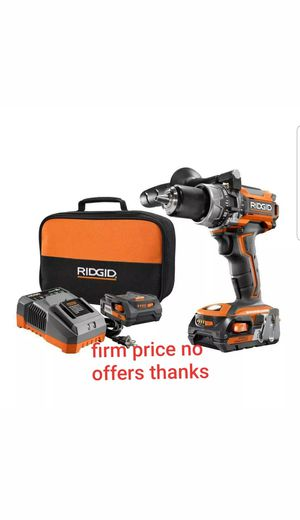 Ridgid R86116K Brushless 18v compact hammer drill/driver Kit for Sale in UPR MARLBORO, MD