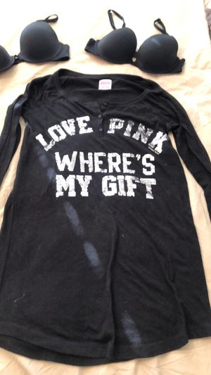 PINK by Victoias Secret Holiday Lounge/PJ Top for Sale in Glendora, CA