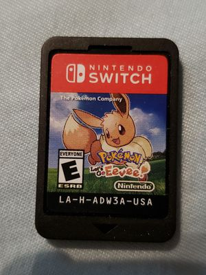 Pokemon let's go Eevee for the Nintendo switch for Sale in Rialto, CA