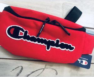Champion Waist Shoulder Script Logo Fanny Pack Bag for Sale in San Francisco, CA