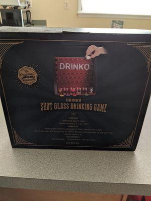 Drinko Shot Glass Drinking Game for Sale in Lutz, FL
