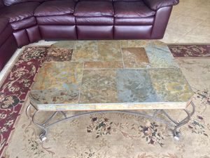 Stone coffee table for Sale in West Palm Beach, FL