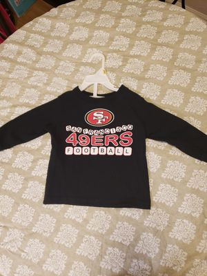 San Francisco 49ers kids clothes jersey for Sale in Fresno, CA