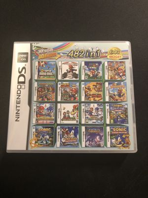 482 in 1 Nintendo DS Games MultiCart for Sale in Stockton, CA