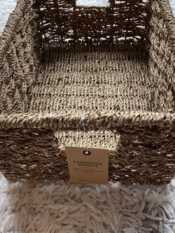 Handwoven Storage Basket for Sale in Boston,  MA