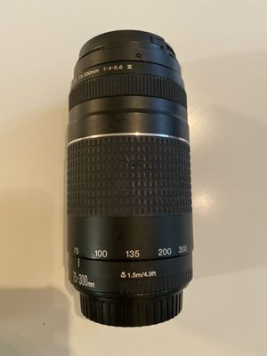 Canon Ef 75-300 mm f/4 - 5.6 for Sale in Los Angeles, CA