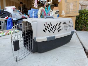 Dog Crate (toy size) & Puppy Supplies for Sale in Fresno, CA