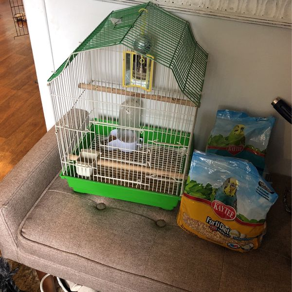 Birdcage and Food
