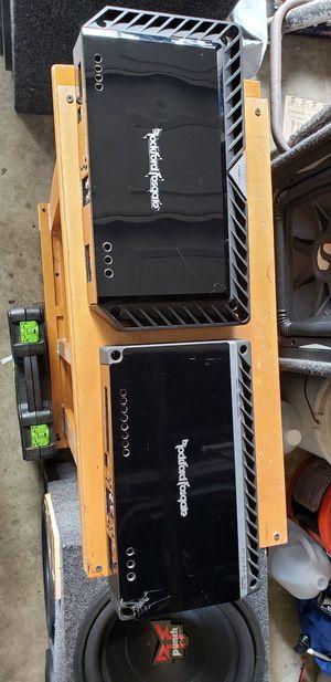 Rockford fosgate Amps for Sale in Modesto, CA