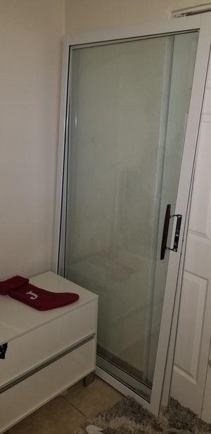 "White sliding glass doors 72x78 3/4"" for Sale in Deerfield Beach, FL"