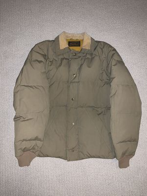 VTG 70s EDDIE BAUER GOOSE DOWN JACKET Tan PUFFER PARKA SZ M for Sale in West Linn, OR