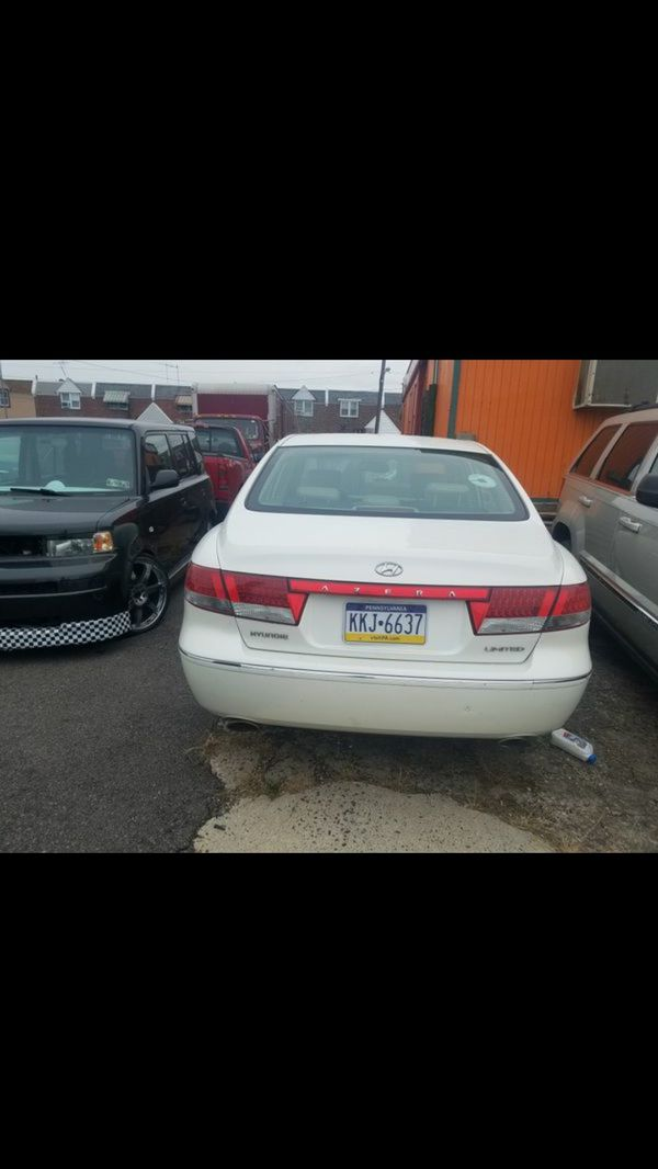 Hyundai azera 2006 clean title 146 milles perfect condition not problem everythig work 100%
