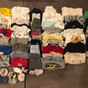 Newborn To 3 Months Clothes For Boy for Sale in Anaheim, CA