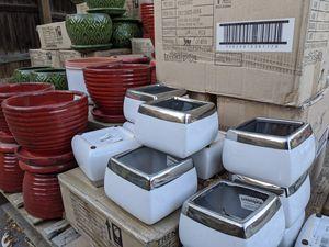 10/17 - Get Your Plants inside Some New Pottery - Glazed Pots for Sale for Sale in Denver, CO
