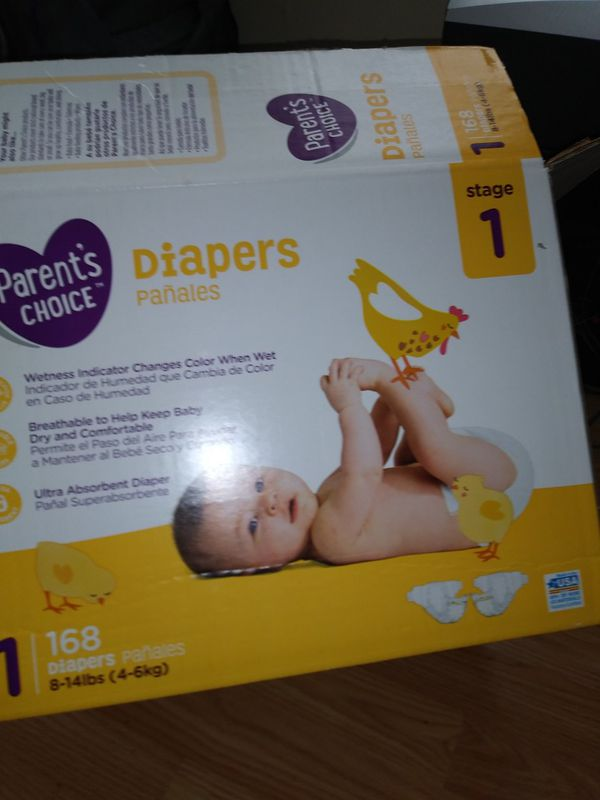 Baby items and diapers