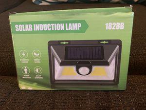 SOLAR PANEL MOTION LED LIGHT (no batteries, no wiring) for Sale in Winston-Salem, NC