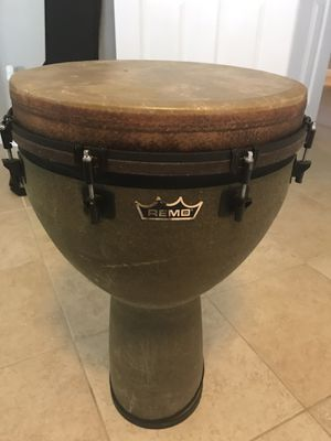 Remo Large Djembe Drum for Sale in Clifton, VA