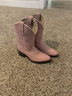 Girls Leather cowgirl boots (10.5) for Sale in Tualatin, OR