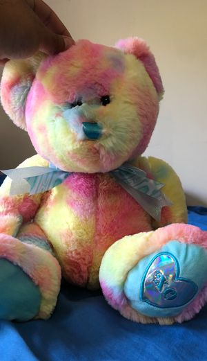 Hug fun Rainbow teddy bear for Sale in Covina, CA