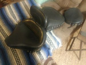 Mustang motorcycle seat for softail for Sale in Pasadena, TX