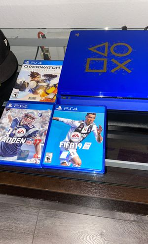 PS 4 good Conditions 3 games for Sale in Los Angeles, CA