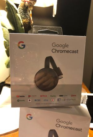 Google Chromecast (3rd Edition) for Sale in Riverview, FL
