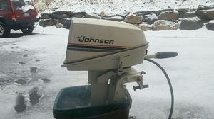80's Johnson 6hp outboard,Runs like a champ extremely reliable for Sale in Wenatchee, WA