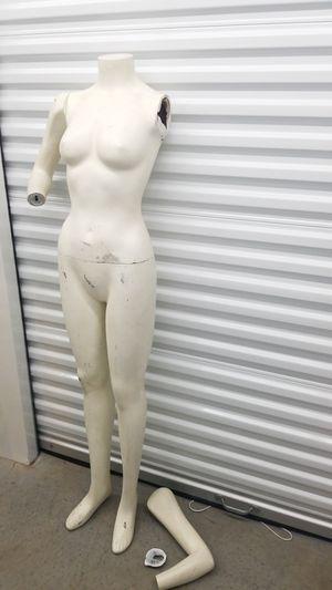 Mannequin women slim broken arm for Sale in Seattle, WA