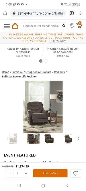 Power recliner for Sale in LOCH LYN HGHT, MD
