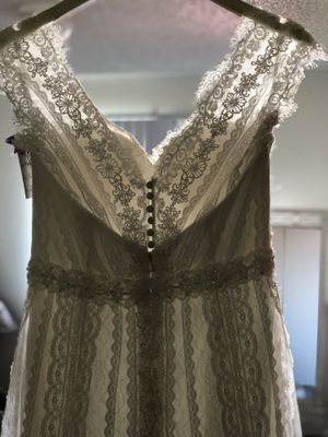 PRICE DROP Gorgeous Bohemian Lace Wedding Dress for Sale in Lodi, CA